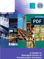 A Guide to Standard Forms of Construction Contract