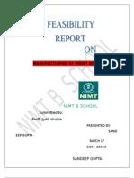 Feasibilty Report San Deep 2003...sandeep gupta