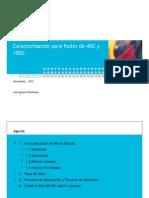Caracterización para Redes de 40 y 100GB
