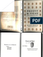 Proust and Signs, by Gilles Deleuze