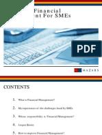Improving Financial for SME