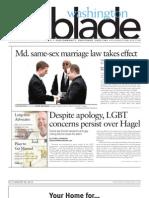 Washingtonblade.com - Volume 44, Issue 1 - January 4, 2012