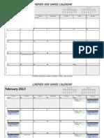 LWG Calendar 2013