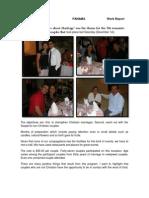 December 2012PANAMAWork Report