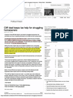 Cliff Deal Keeps Tax Hel.