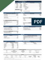Boletim Estatistico 2012