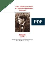 Vol 09 - MARIATEGUI - Obras Completas Cronológicas. 1928. (AUDIOLIBROS)