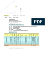 Wind Load Calculation for Vessel