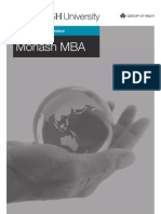 Monash University MBA Program Guide 2013