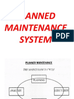 Planned Maintainece System for Ships