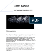 4110_Media Analysis_Game of Thrones