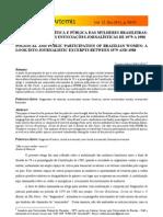 PARTICIPAÇÃO POLÍTICA E PÚBLICA DAS MULHERES BRASILEIRAS