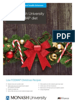 Monash University Low FODMAP Diet Christmas Recipes
