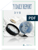 Daily Equity Report By Global Mount Money 3-1-2013