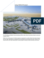 Abu Dhabi Airport- Midfield Terminal