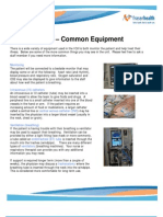 Factsheet Common Equipment