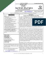 Bulletin 11&12, 2007