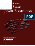 Introduction to Solid State Power Electronics