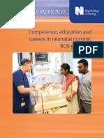 RCN Competences Neonatal