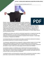 Analisis de La Situacion Actual y Legislacion Comparada en Materia de Insolvencia
