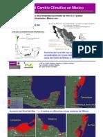 Impacto Cambio Climatico en Mexico