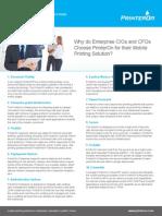 10 Reasons to Choose PrinterOn