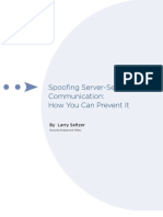 Spoofing Server-Server  Communication