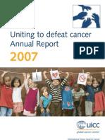 UICC Annual report 2007