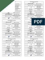 Handwriting Checklist- Elementary