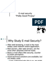 PGP E-mail Security
