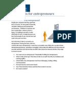 54747252 Workshops for Entrepreneurs