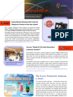 Suria Newsletter Issue H2/2012
