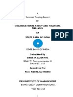 Project Report on SBI
