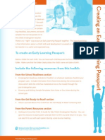 Creating Early Learning Passport