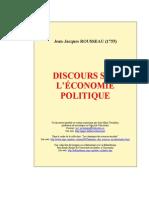 Discours sur l'économie politique (1755)