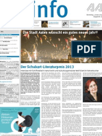 Stadtinfo Aalen - KW 01 - 2013
