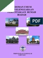 Pedoman Umum Penyelenggaraan Perpustakaan Rumah Ibadah