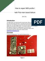 Martin M2K Repair and replace main pcb