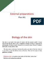 external preparation pharmacy