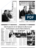 Versión impresa del periódico El mexiquense 2 enero 2013