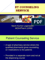 Patient Counseling Services