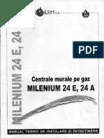 Centrala Milenium 24E 24A ACV