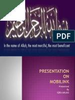 presentation on HR department of mobilink.