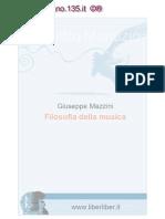 Giuseppe Mazzini - Filosofia Della Musica