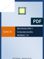 Guía de Informacion y Comunicacion (NOBACI)