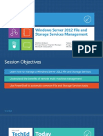 Windows Server 2012 File and Storage Services Management