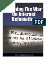 Winning the War on Internet Defamation