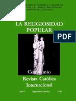 Scannone Religiosidad Popular Sabiduria Del Pueblo y Teologia