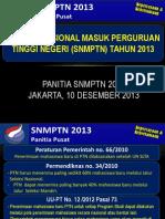 Materi Sosialisasi SNMPTN-2013(Revisi Ketum)