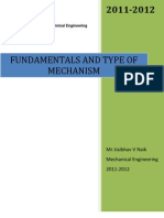 Fundamentals and Types of Mechanism